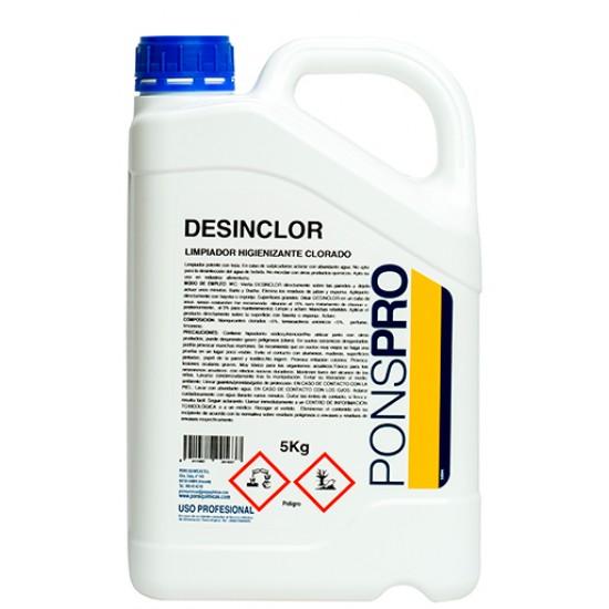 Disinfectant surfaces-Desinclor 5l-Asevi