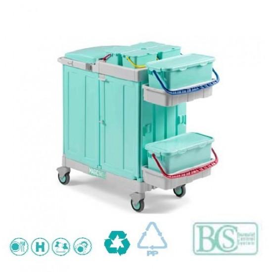 Antibacterial Cart for Hospitals and Clinics 790Elegance