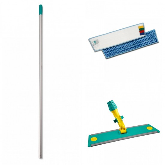 Professional flat mop with Velcro hedge system Tts
