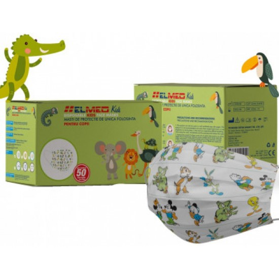Disposable hygienic masks for children, Set of 50 pieces