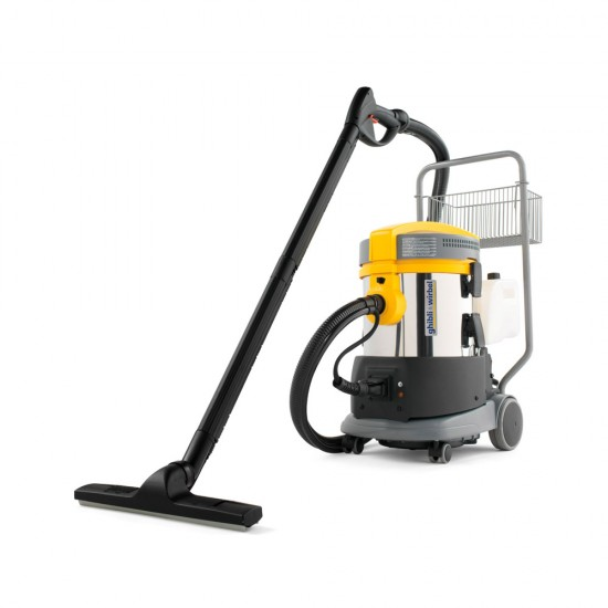 Vacuum cleaner extractor with heat
