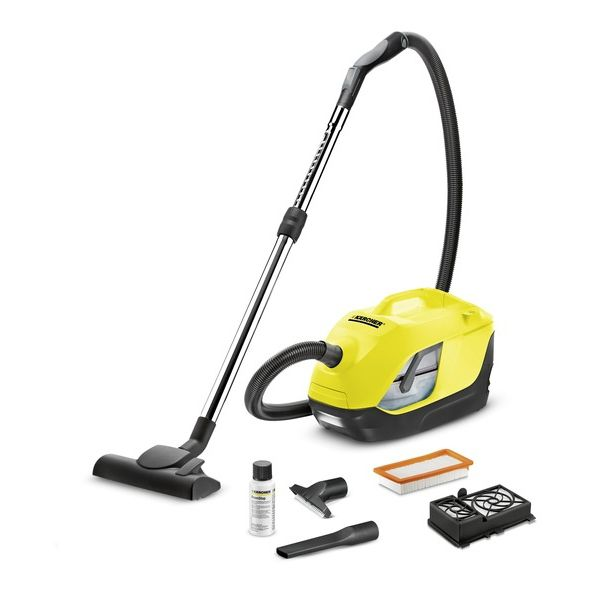 Vacuums with water filtration